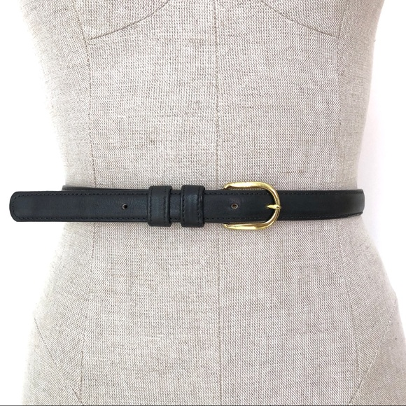Levi's Accessories - Levi's Vintage Black Leather Belt Size XXL